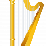 Download and use Harp Icon Clipart