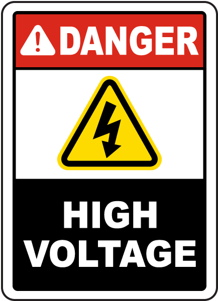 Free download of High Voltage PNG Picture
