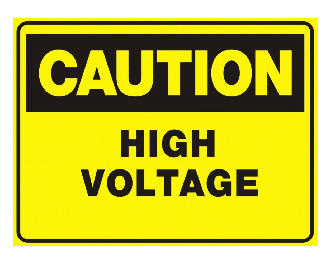 Free download of High Voltage  PNG Clipart