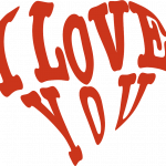 Grab and download I Love You PNG Picture