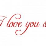 Download this high resolution I Love You PNG