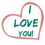 Free download of I Love You Transparent PNG Image