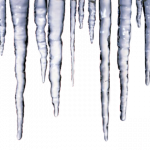 Free download of Icicles Transparent PNG Image