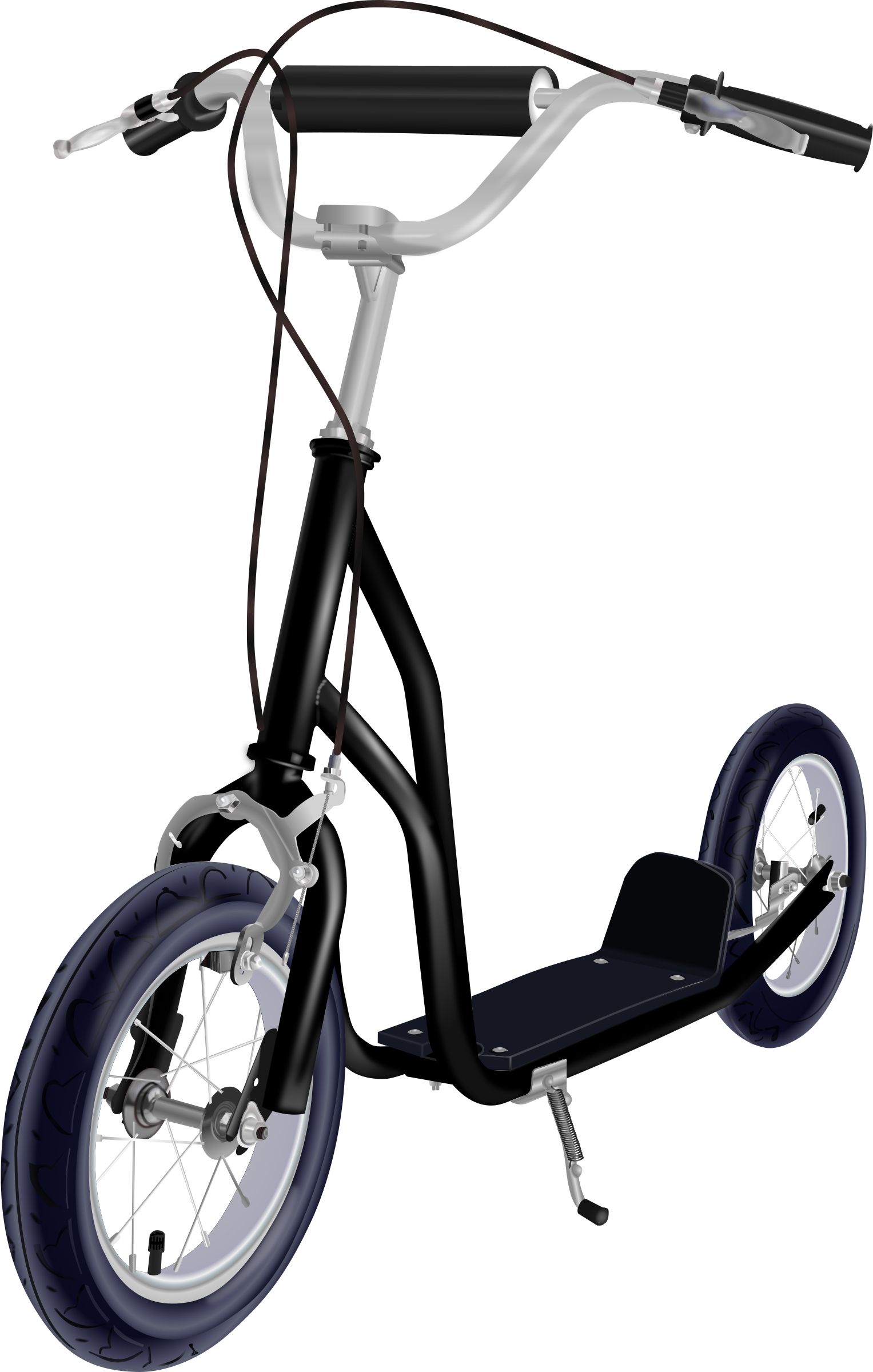 Free download of Kick Scooter In PNG
