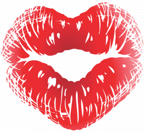 Now you can download Kiss PNG Image
