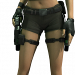 Now you can download Lara Croft Icon Clipart