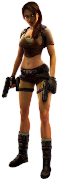 Best free Lara Croft PNG Icon