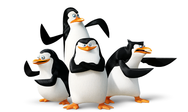 Download and use Madagascar Penguins High Quality PNG