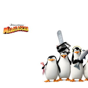 Download and use Madagascar Penguins PNG Image Without Background