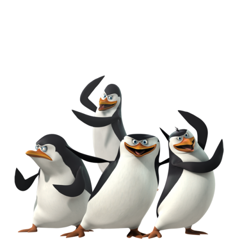 Download and use Madagascar Penguins In PNG