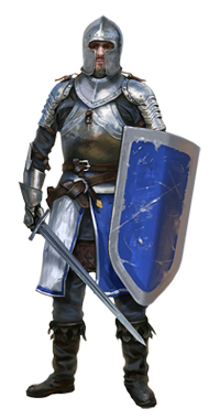 Grab and download Medival Knight Icon Clipart