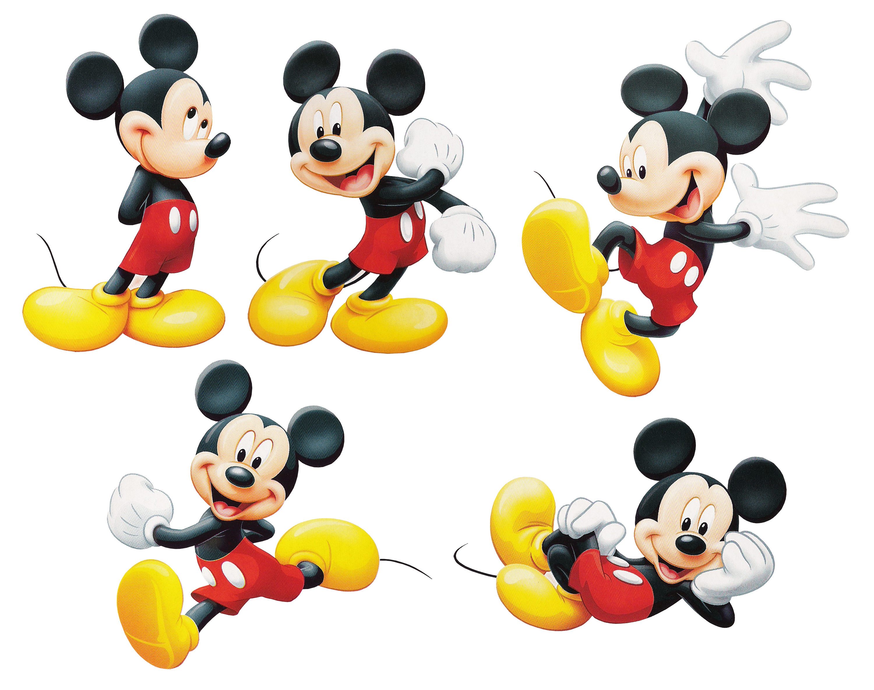 Best Free Mickey Mouse PNG Image Without Background