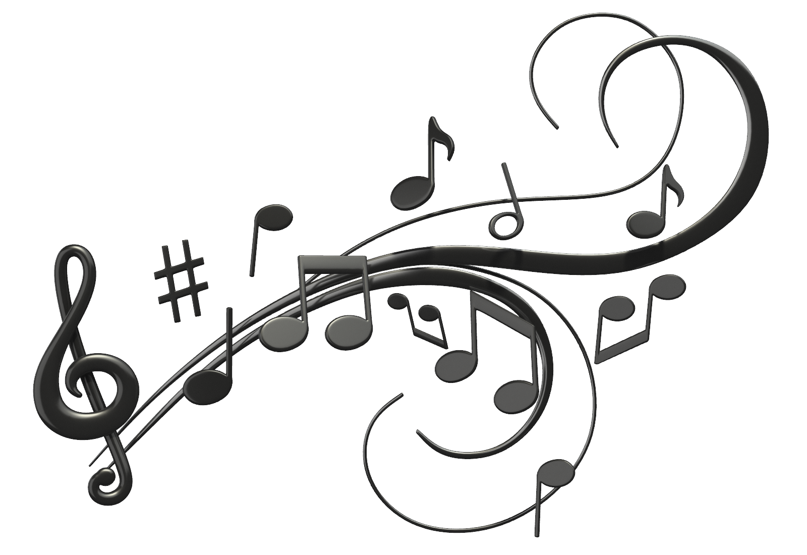 Music notes icon clipart web icons png best free music notes high quality png voltagebd Images