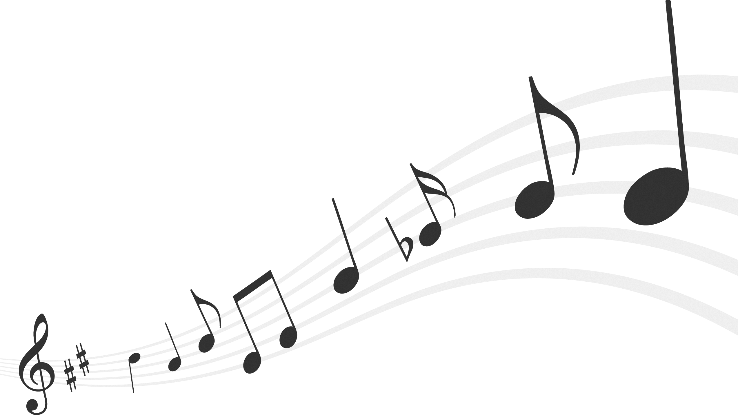 Free download of Music Notes High Quality PNG