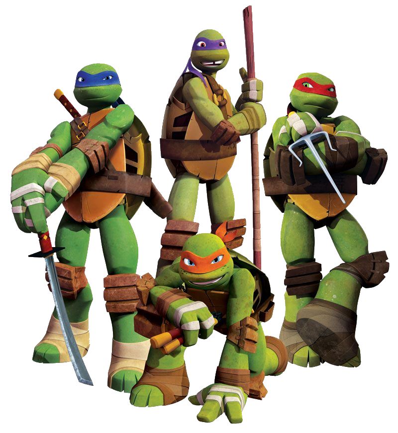 Download and use Ninja Turtles Transparent PNG Image