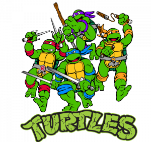 Download this high resolution Ninja Turtles In PNG