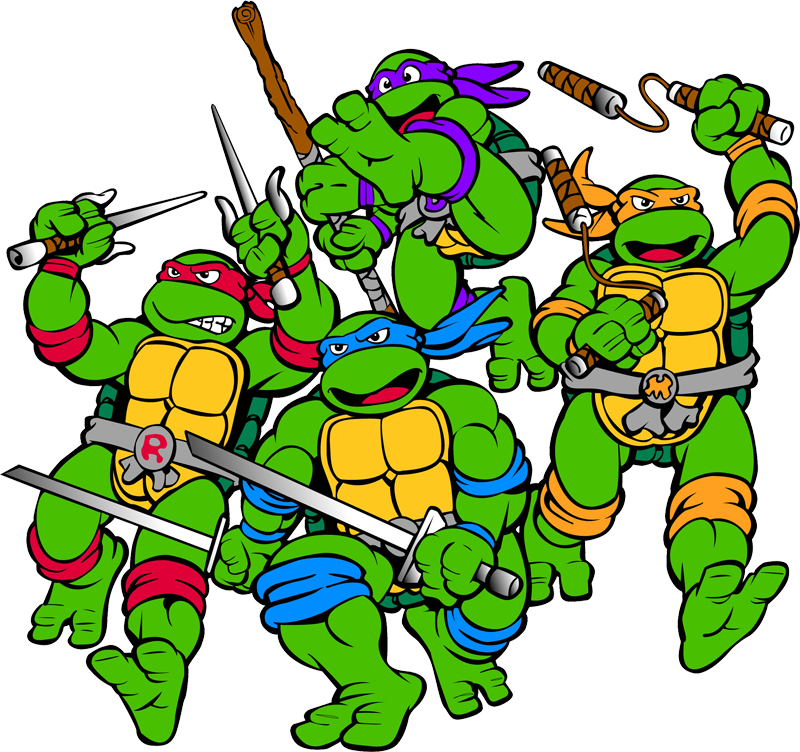 Download and use Ninja Turtles PNG in High Resolution