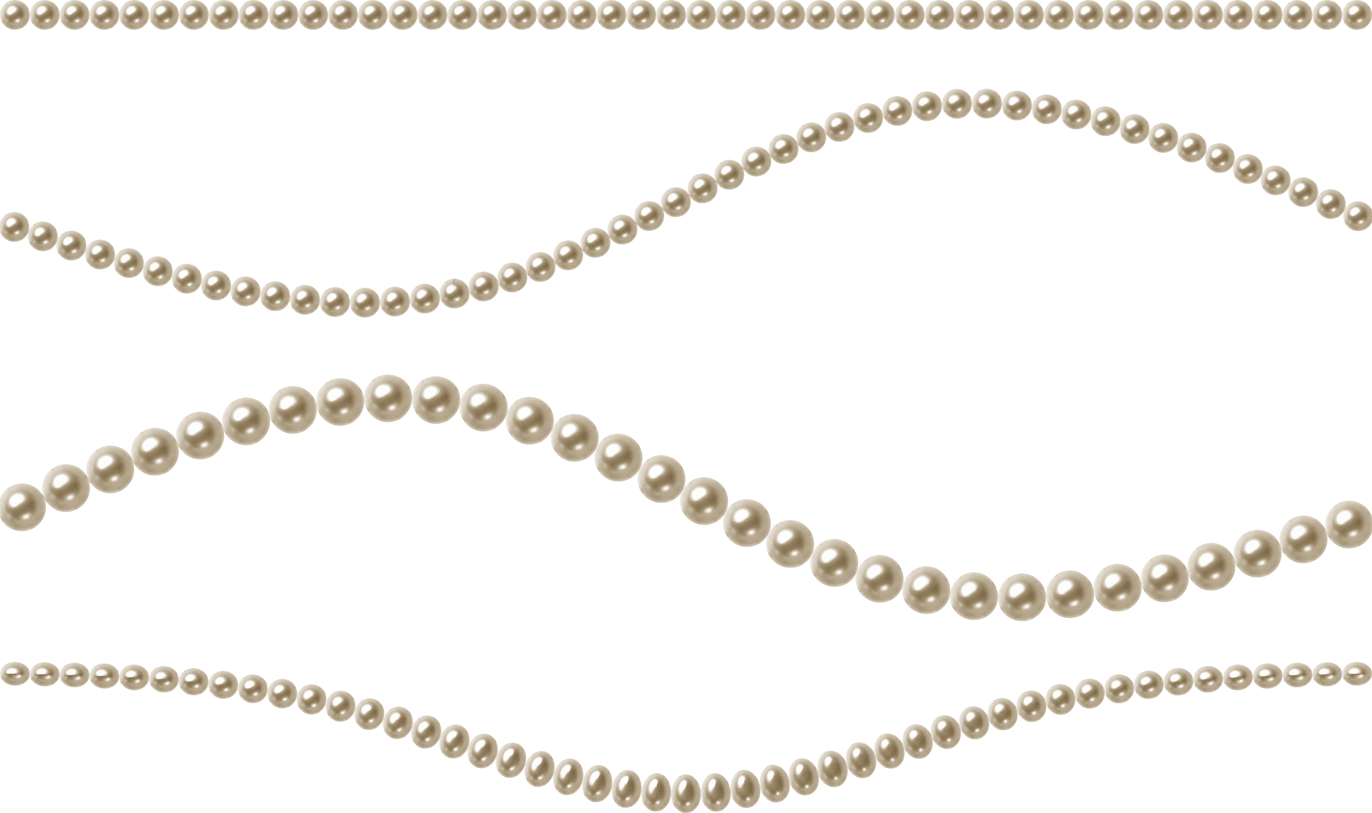 Download for free Pearls Transparent PNG File