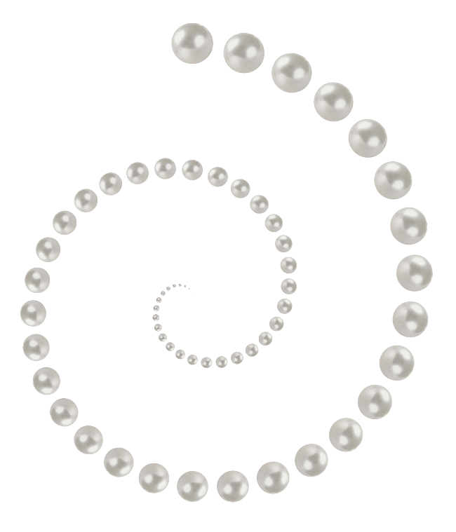 Download and use Pearls Transparent PNG File