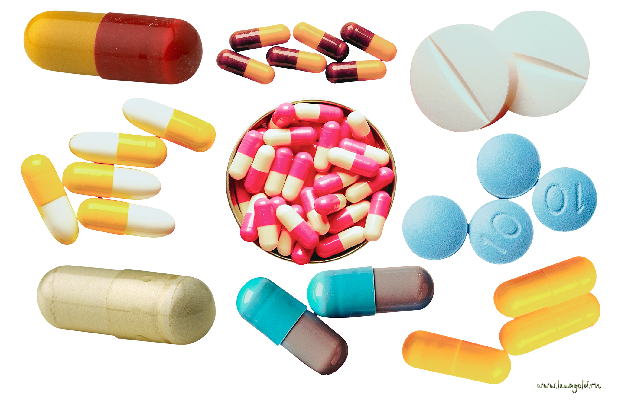 Grab and download Pills PNG Image