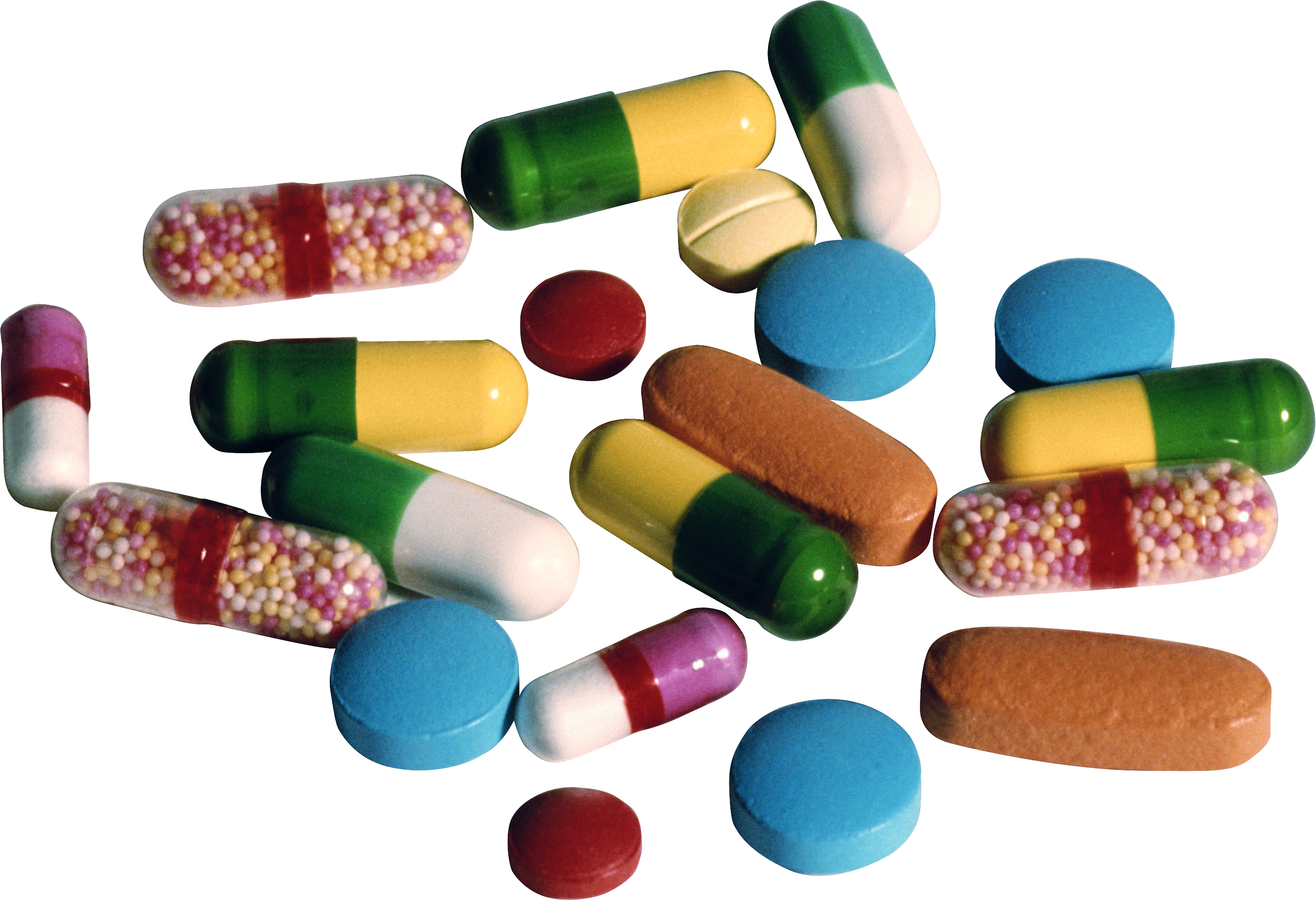Free download of Pills PNG Image