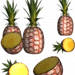 Free download of Pineapple  PNG Clipart