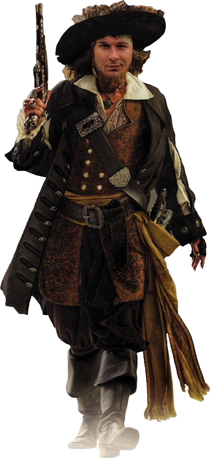 Download this high resolution Pirate Transparent PNG File