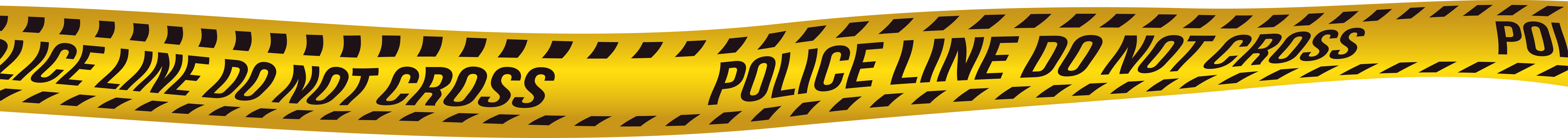 Grab and download Police Tape Transparent PNG File