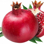 Now you can download Pomegranate PNG Image