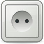 Download and use Power Socket Transparent PNG Image