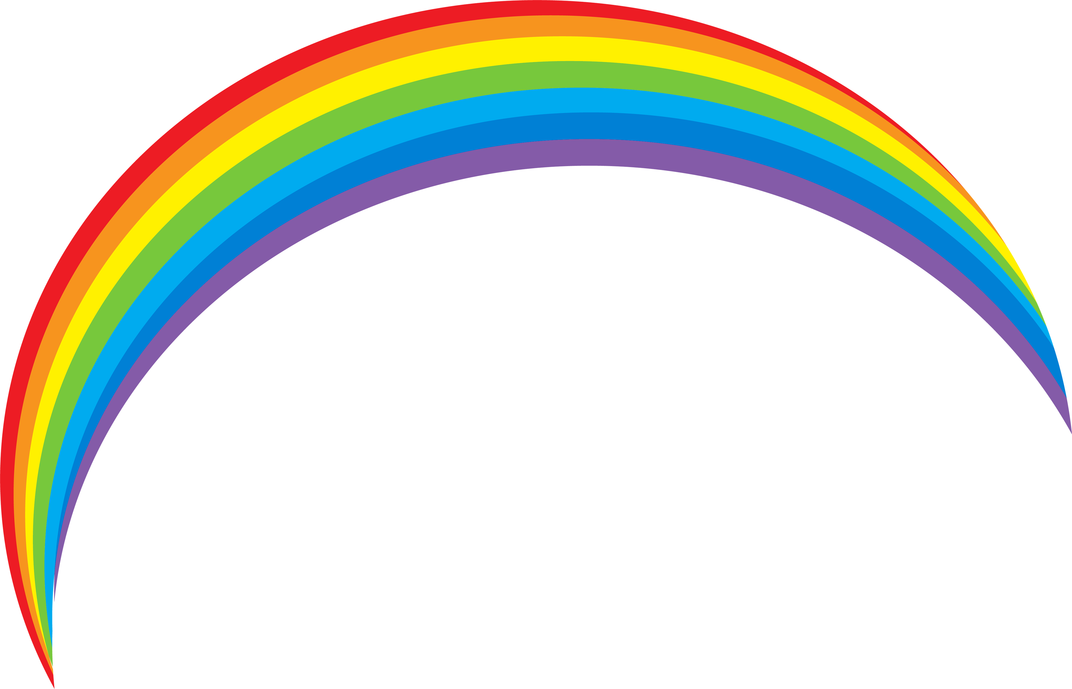 Best free Rainbow In PNG