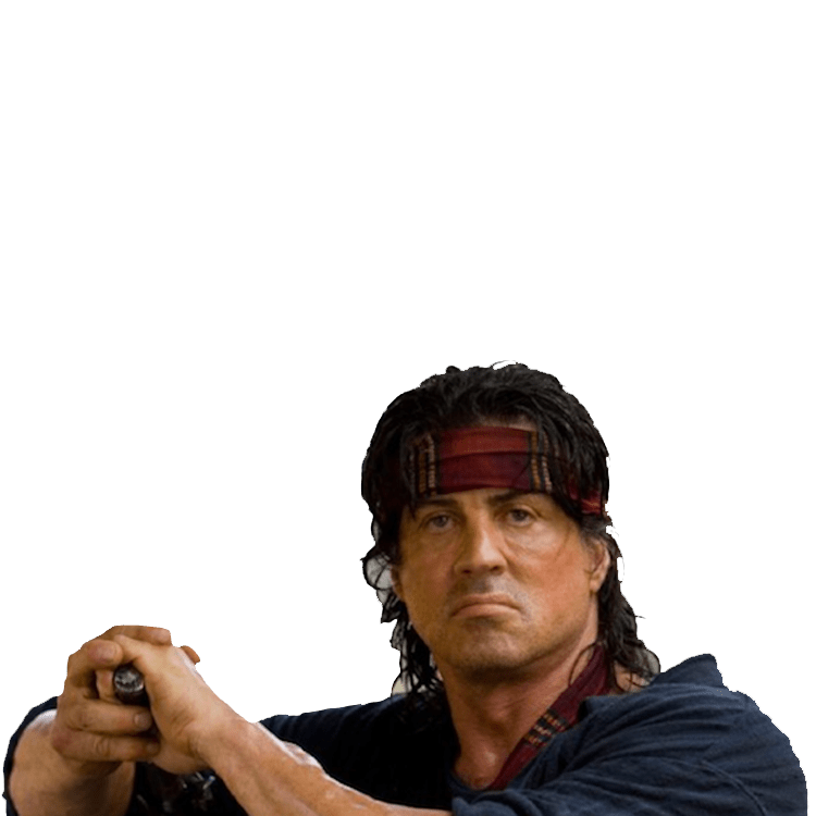 Download and use Rambo Icon