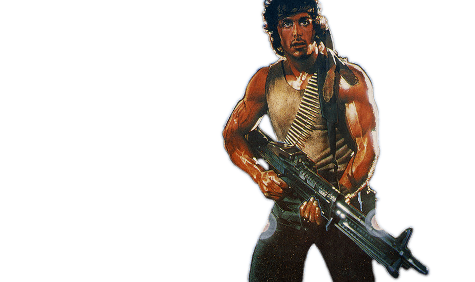 Free download of Rambo Icon Clipart