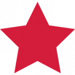 Download and use Red Star Icon PNG