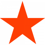 Free download of Red Star PNG Image