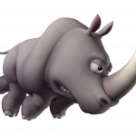 Grab and download Rhino PNG Image Without Background