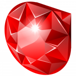 Best free Ruby PNG in High Resolution