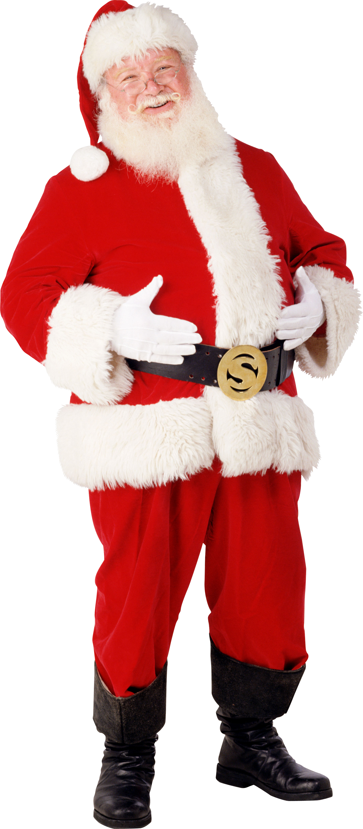 Download and use Santa Claus PNG Image
