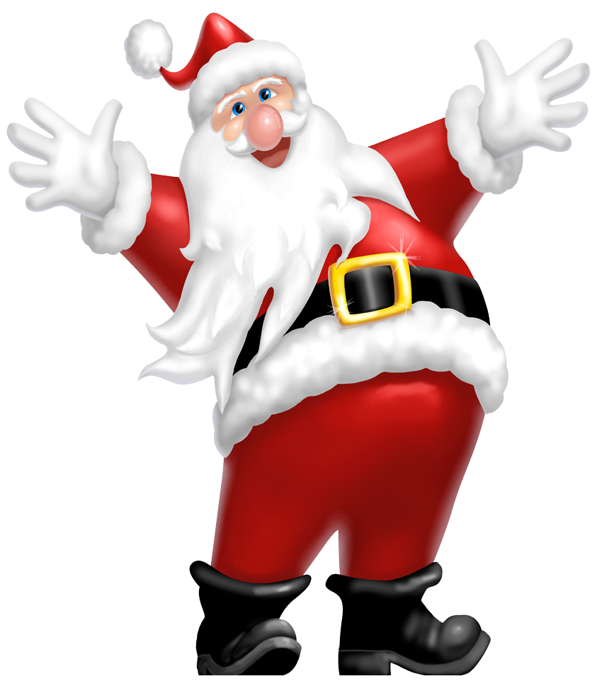 Download this high resolution Santa Claus Icon Clipart