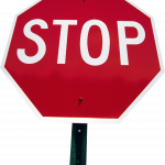 Now you can download Sign Stop PNG