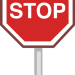Free download of Sign Stop Icon Clipart