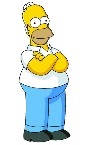 Free download of Simpsons PNG in High Resolution