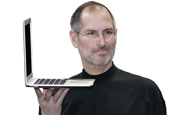 Download this high resolution Steve Jobs Icon Clipart