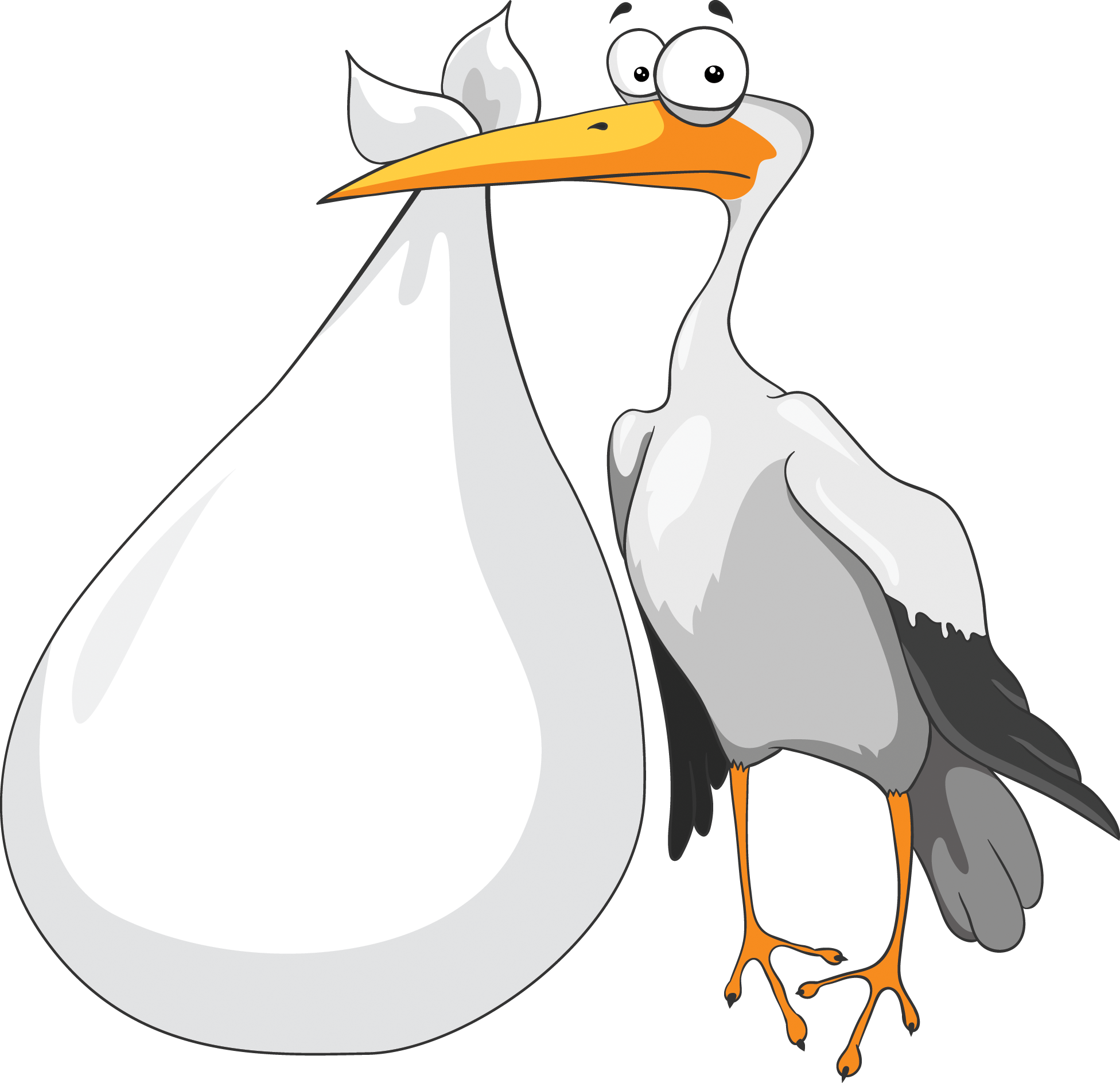 Download and use Stork PNG Icon