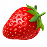 Download and use Strawberry Transparent PNG Image