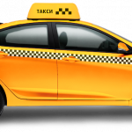 Grab and download Taxi Transparent PNG Image