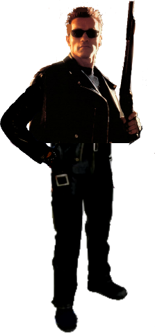 Now you can download Terminator PNG