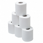 Free download of Toilet Paper PNG Icon