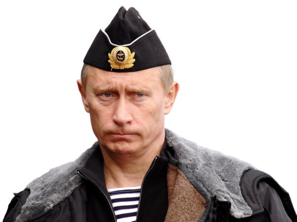 Now you can download Vladimir Putin In PNG
