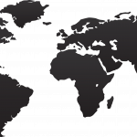 Grab and download World Map Icon PNG